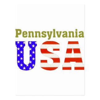 Postal ¡Pennsylvania los E.E.U.U.!
