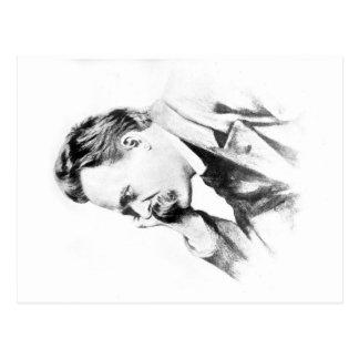 Postal pensador famoso: Friedrich Nietzsche