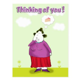 Postal pensamiento en el you_