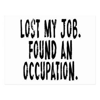 Postal Perdió mi trabajo.  Encontró un empleo