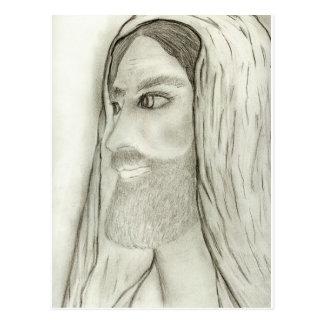 Postal Perfil de Jesús