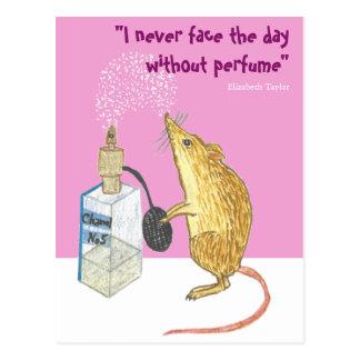 Postal Perfume -- ¡esencial por un buen día!
