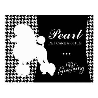 Postal Perla 311 el mascota del caniche que prepara