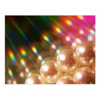 Postal Perlas del arco iris