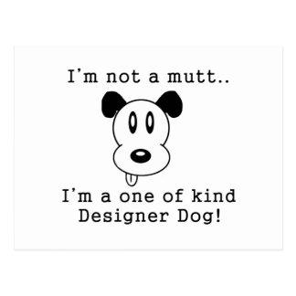 Postal Perro del diseñador