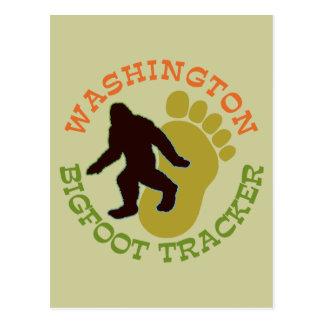 Postal Perseguidor de Washington Bigfoot