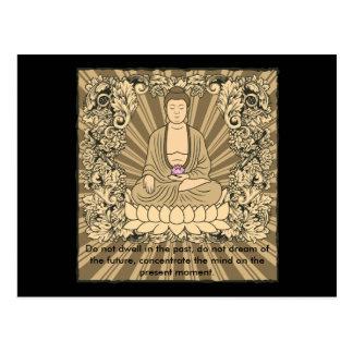 Postal Personalizado Buda del vintage