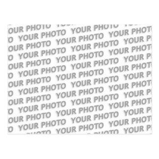 Postal Personalizado su color de fondo del texto, de la