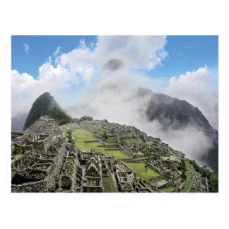 Postal Perú, Machu Picchu, la ciudad perdida antigua de 4