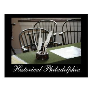 Postal Philadelphia histórica