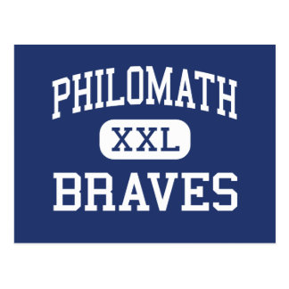 Postal Philomath Braves Philomath medio Oregon