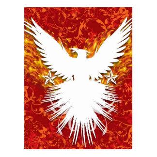 Postal Phoenix roja