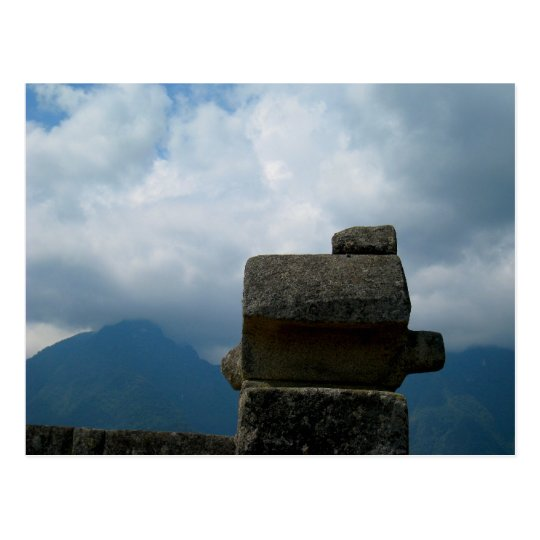 Postal Piedras arquitectónicas Incan