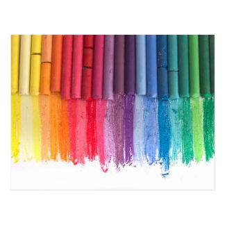 Postal piense en color