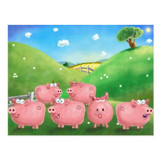 Postal Piggies
