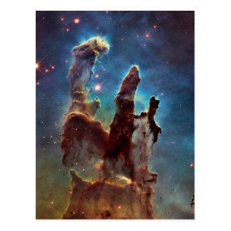 Postal Pilares de la nebulosa de HDR Eagle de la creación