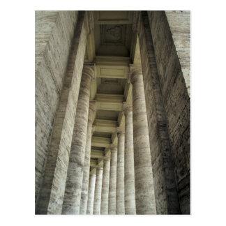 Postal Pilares de Vatican