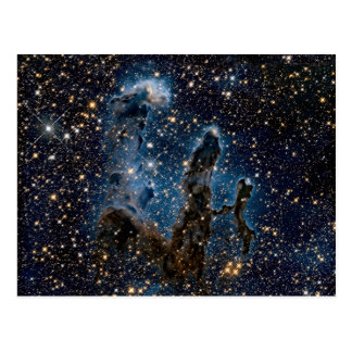 Postal Pilares infrarrojos de la nebulosa de Eagle de la