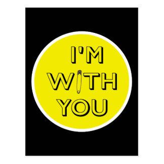 Postal Pin de seguridad - Estoy con usted