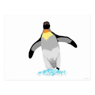 Postal Pingüino