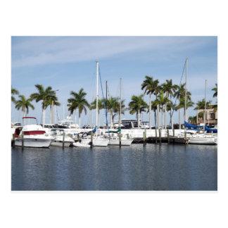 Postal pintoresca de la Florida del puerto