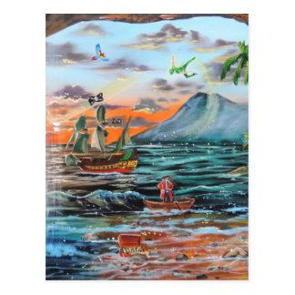 Postal Pintura de Bell del chapucero de la ensenada del