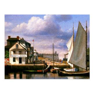Postal Pintura de la costa de St Augustine