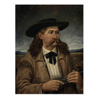 Postal Pintura de Wild Bill Hickok