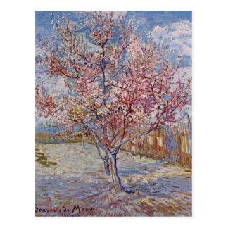 Postal Pintura del árbol de Vincent van Gogh