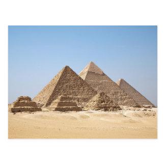 Postal Pirámides de Egipto-Gizah