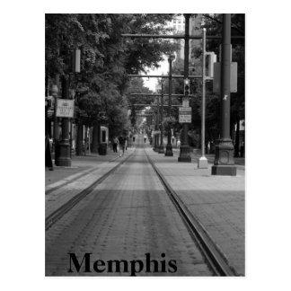 Postal Pistas de la carretilla de Memphis