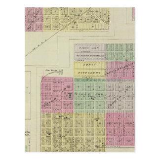 Postal Pittsburg, nuez, Beulah, y Lichfield, Kansas