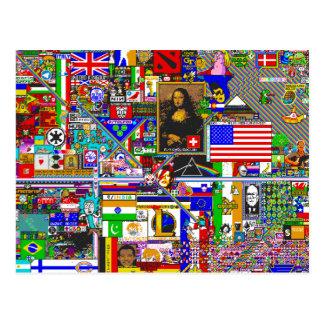 Postal pixel art by r/place