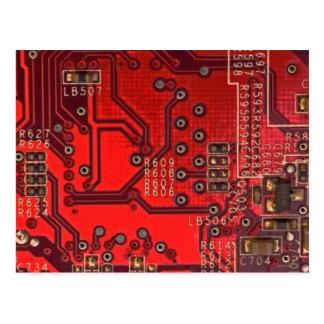 Postal placa de circuito