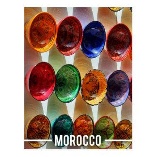 Postal Placas de cerámica marroquíes