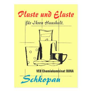 Postal Plaste y Elaste DDR