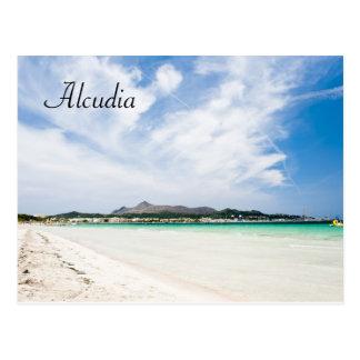 Postal Playa de Alcudia