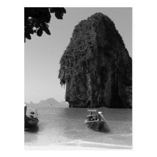 Postal Playa de B&W Krabi