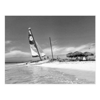 Postal Playa de B&W La Habana