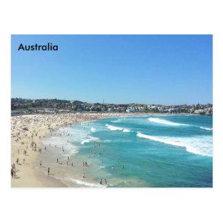 Postal Playa de Bondi, Nuevo Gales del Sur, Australia