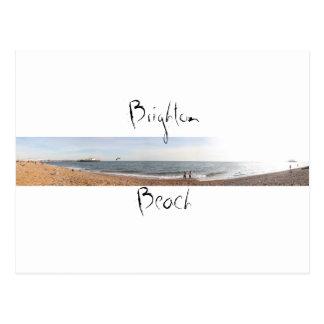 Postal Playa de Brighton