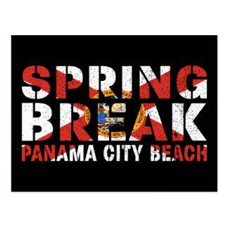 Postal Playa de ciudad de Panamá de las vacaciones de