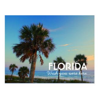 Postal Playa de ciudad de Panamá, deseo de la Florida