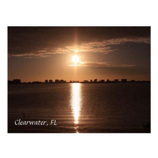 Postal Playa de Clearwater, la Florida