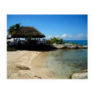 Postal Playa de Cozumel