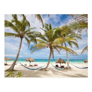 Postal Playa de las vacaciones