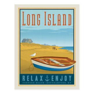 Postal Playa de los toneleros de Long Island el |,