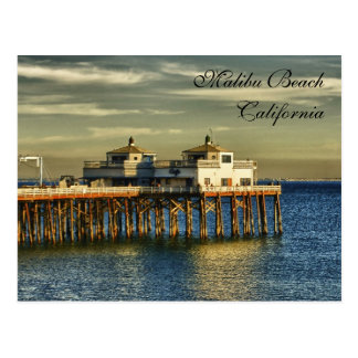 Postal Playa de Malibu, California