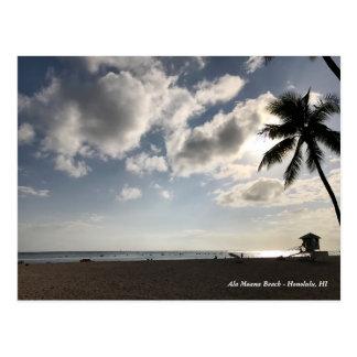 Postal Playa de Moana del Ala
