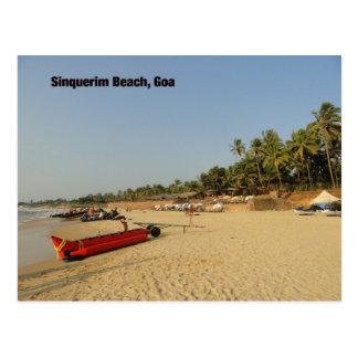 Postal Playa de Sinquerim